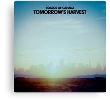 Boards Of Canada - Tommorow's Harvest Canvas Print