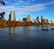 Austin Skyline From Lou Neff Point by Judy Vincent