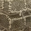 Lobster Pots by Alan Stevens