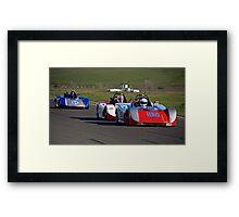 SCCA SRF Racing Event 1 Framed Print