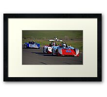 SCCA SRF Racing Event 1 Framed Print