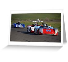 SCCA SRF Racing Event 1 Greeting Card