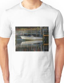 Waiting Patiently to Ride the High Tide (Texturized) Unisex T-Shirt