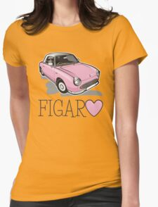Nissan Figaro - Pink Womens Fitted T-Shirt