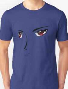Face with red eyes Unisex T-Shirt