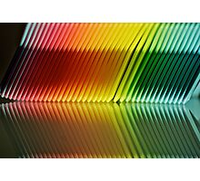 Colorful Ribs Photographic Print