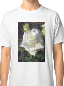 White Rose in the Garden 9 Classic T-Shirt