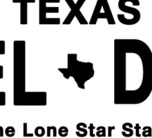 Nothin' Finer Than A Texas Welder Sticker