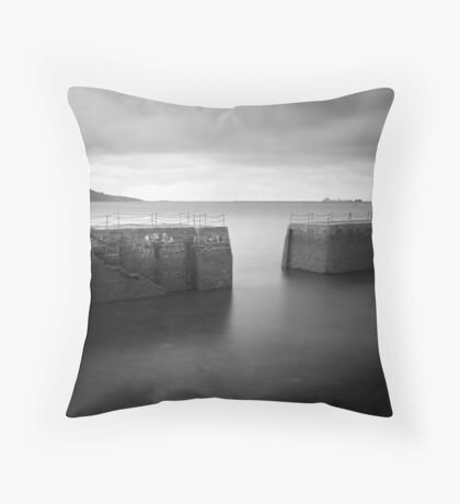 Old Harbour Throw Pillow