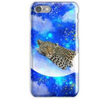 Relax in the Moon iPhone Case/Skin