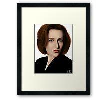 Scully Framed Print