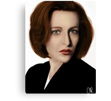 Scully Canvas Print