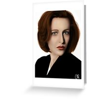 Scully Greeting Card
