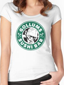 Gollums Sushi Bar Women's Fitted Scoop T-Shirt