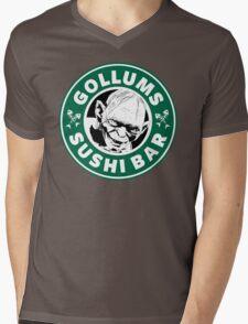 Gollums Sushi Bar Mens V-Neck T-Shirt