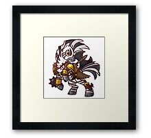 Warrior Pony Framed Print
