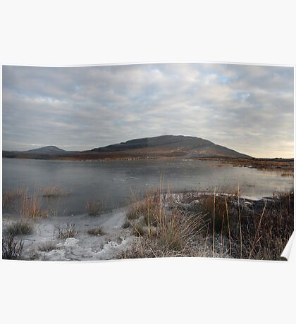Winters morning at Mullaghmore Poster