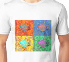 A Sequence of Toddler Turtles – Orange & More Unisex T-Shirt