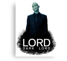 Dark Lord Brand Canvas Print