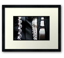 For Your Eyes Only - Triptych Framed Print