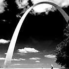 The Arch, St Louis, Missouri  by Jerry Carpenter