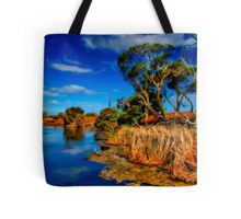 """Creekside on a Summer Afternoon"" Tote Bag"