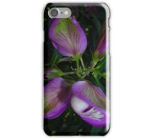 Purple Pea iPhone Case/Skin