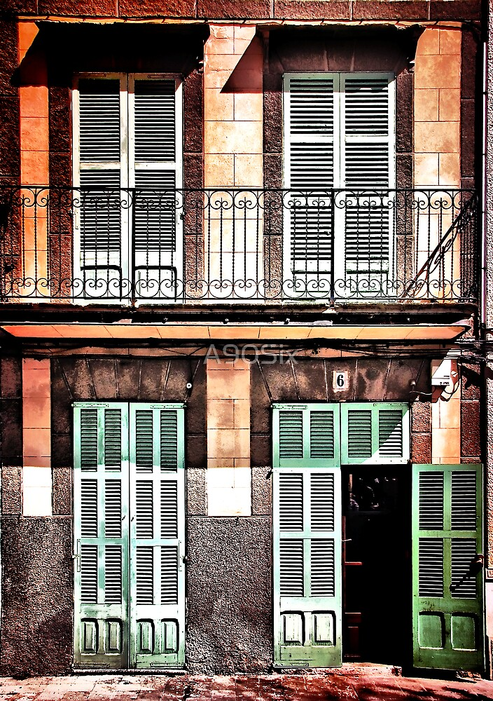Shutters on No.6 by A90Six