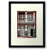 Shutters on No.6 Framed Print
