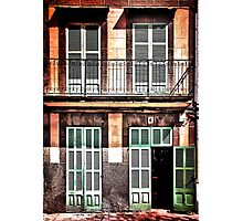 Shutters on No.6 Photographic Print