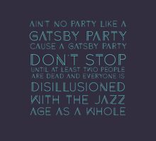 Ain't No Party - Great Gatsby (Blue) Women's Tank Top