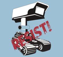 Resist Surveillance Kids Clothes