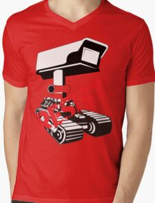 Resist Surveillance Mens V-Neck T-Shirt