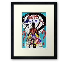 Happy New Year??? Framed Print