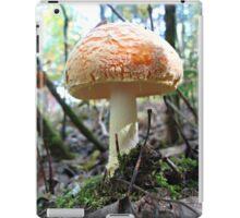 Fat Cap Mushroom iPad Case/Skin