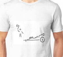 dragster moto sport run car Unisex T-Shirt