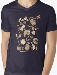 Salty Sea Mens V-Neck T-Shirt