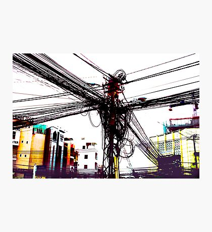 DigiCity-Intersection Photographic Print