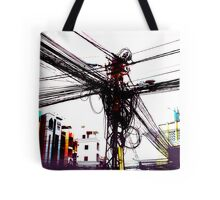 DigiCity-Intersection Tote Bag