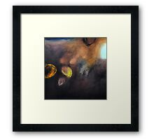 black wine Framed Print