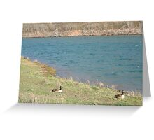 Following the Goose Greeting Card