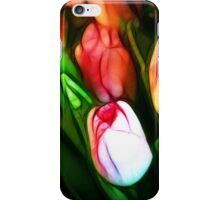 Abstract Pink Tulips iPhone Case/Skin