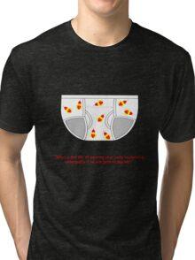 Lucky Rocketship Underpants Tee Tri-blend T-Shirt