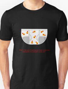Lucky Rocketship Underpants Tee Unisex T-Shirt