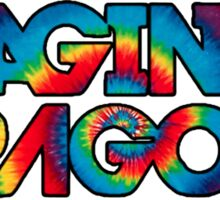 Imagine Dragons -Tie Dye  Sticker