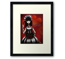 Be My Valentine... Framed Print