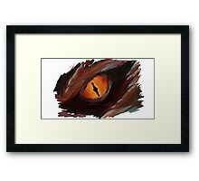 Smaug Eye - The Hobbit Framed Print