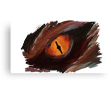 Smaug Eye - The Hobbit Canvas Print