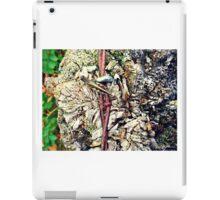 Grasshopper on Barbed Wire iPad Case/Skin