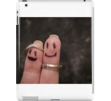 Mr & Mrs iPad Case/Skin